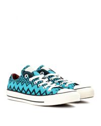 Converse | Blue Chuck Taylor Ox Sneakers | Lyst