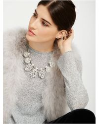 BaubleBar - Metallic Laurel Collar - Lyst
