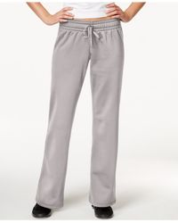 Under Armour | Gray Armour Fleece Pants | Lyst