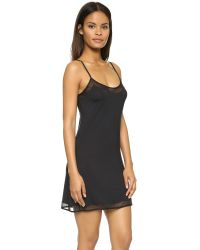 Calvin Klein - Black Ethereal Tailored Chemise - Lyst