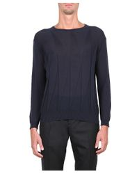 CoSTUME NATIONAL - Blue Cotton Pull for Men - Lyst