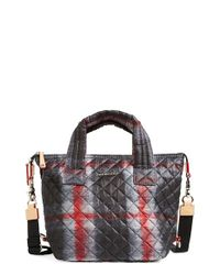 MZ Wallace | Multicolor 'small Sutton' Quilted Oxford Nylon Crossbody Bag | Lyst
