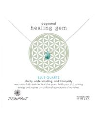Dogeared - Metallic Healing Gem Reminder Teardrop Pendant Necklace - Lyst