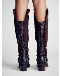 Free People | Purple Freebird By Steven Womens Coal Tall Boot | Lyst