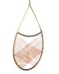 ASOS - Metallic Dream Catcher Necklace - Lyst