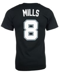 Adidas Originals - Black Men's Short-sleeve Patty Mills San Antonio Spurs Player T-shirt for Men - Lyst