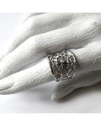 Ayaka Nishi | Metallic Gold Branch Spider Web Ring | Lyst
