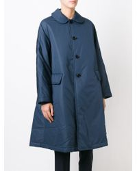 Comme des Garçons - Blue Oversized Coat - Lyst