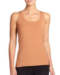 Wolford | Orange Pure Tank Top | Lyst