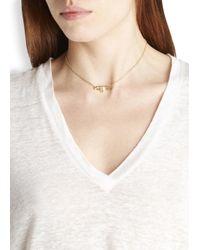 Vivienne Westwood | Metallic Jordan Gold Plated Faux Pearl Necklace | Lyst