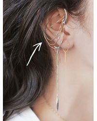 Free People - Metallic Pade Vavra Womens Nymph Ear Frame - Lyst