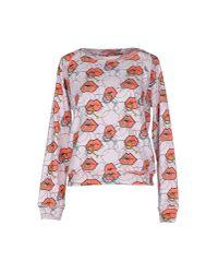 Au Jour Le Jour | Pink Sweatshirt | Lyst