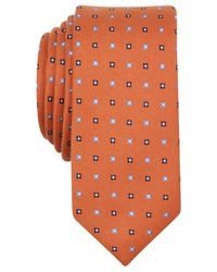 Original Penguin | Orange Piccard Neat Skinny Tie for Men | Lyst