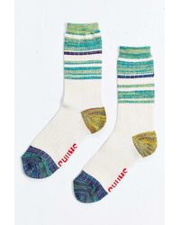 Chums - White Colorblock Wool Boot Sock - Lyst