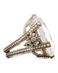 Stephen Dweck | Metallic Oval Rock Crystal Ring | Lyst