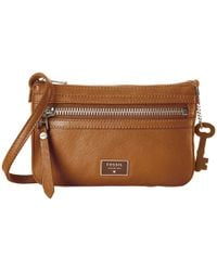 Fossil | Natural Dawson Mini Crossbody | Lyst