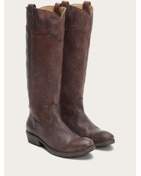 Frye - Brown Carson Lug Riding - Lyst