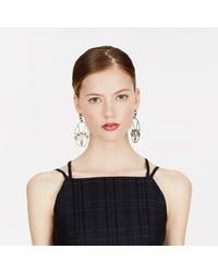 Trademark | Metallic Mask Earrings | Lyst