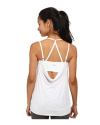 Beyond Yoga | White Goddess Tank Top | Lyst