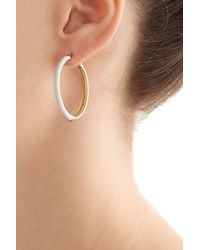 Marc By Marc Jacobs | Metallic Disco-o Hula Hoops Earrings - Multicolor | Lyst