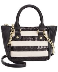 Betsey Johnson - Black Macy's Exclusive Mini Crossbody - Lyst