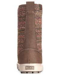 Roxy | Brown Chespeake Cold Weather Mid-shaft Boots | Lyst