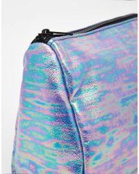 ASOS - Multicolor Metallic Make Up Bag - Lyst
