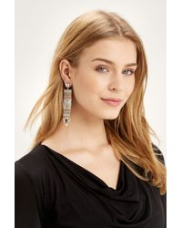 Oasis | Multicolor Luxe Stone Statment Drop Earrings | Lyst