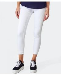 2nd Day - White Lindsay Paneled Jeans - Lyst