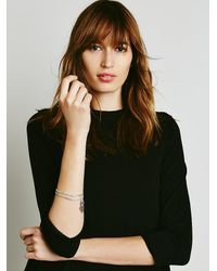 Free People - Metallic Simple Bangle Duo - Lyst