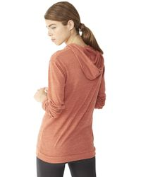 Alternative Apparel | Brown Classic Eco-jersey Pullover Hoodie | Lyst