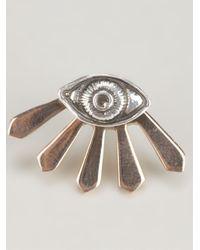 Pamela Love - Metallic Eye Earring - Lyst