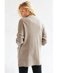 Silence + Noise - Brown Claire Cardigan - Lyst