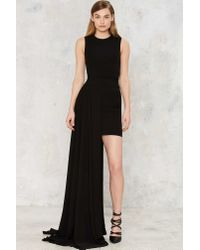 Nasty Gal | Black Aq/aq Aiko Maxi Dress | Lyst