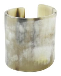 Toast | Large Natural Horn Cuff | Lyst