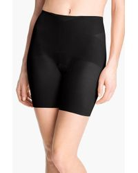 Spanx | Black 'skinny Britches' Mid-thigh Shaper | Lyst