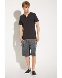 Forever 21 - Gray Alternative Apparel Victory Burnout Sweatshorts for Men - Lyst