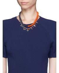Joomi Lim - Multicolor Crystal Bead Double Strand Necklace - Lyst