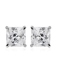Carat* | Metallic 0.5ct Princess Studs | Lyst