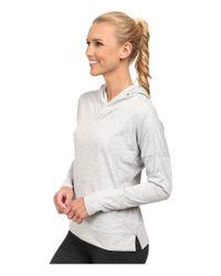 PUMA | Gray Lightweight Pullover Top | Lyst