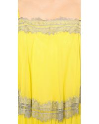 Twelfth Street Cynthia Vincent - Yellow Tiered Maxi Dress - Lyst