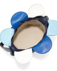 Loewe - Blue Flamenco Small Petal Bag - Lyst
