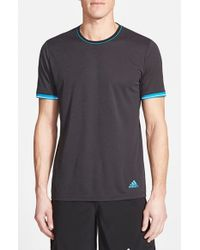 Adidas | Black 'Supernova' Climachill Athletic T-Shirt for Men | Lyst