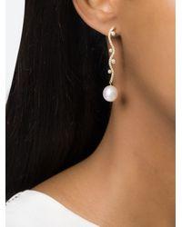 Sophie Bille Brahe | Metallic 'Ocean Pearl' Earring | Lyst