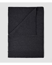 AllSaints - Gray Arley Snood for Men - Lyst