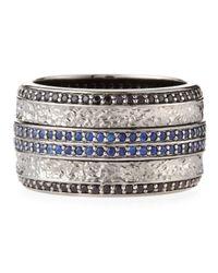 Stephen Webster | Metallic Highwayman Sapphire Spinning Ring for Men | Lyst