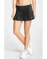 Nike | Black 'victory - Breathe' Dri-fit Tennis Skirt | Lyst