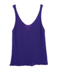 Wool And The Gang   Purple Venice Vest   Lyst