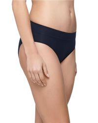 Yummie By Heather Thomson | Blue Jessica Ultralight Seamless Bikini | Lyst