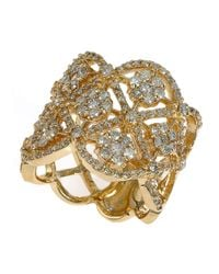 Effy | Metallic Diamond And 14K Yellow Gold Ring, 1.71 Tcw | Lyst